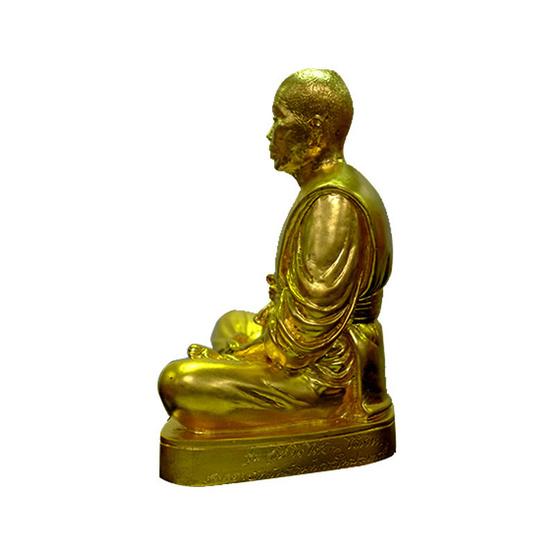 พระบูชาหลวงพ่อคูณ เนื้อทองเหลืองปิดทองคำ หน้าตัก 7.5 นิ้ว