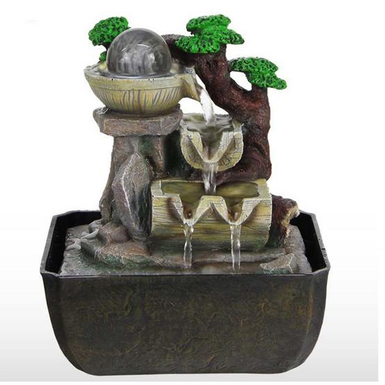 Eagocraft น้ำพุล้นเสริมฮวงจุ้ยรุ่นลูกแก้วมังกร