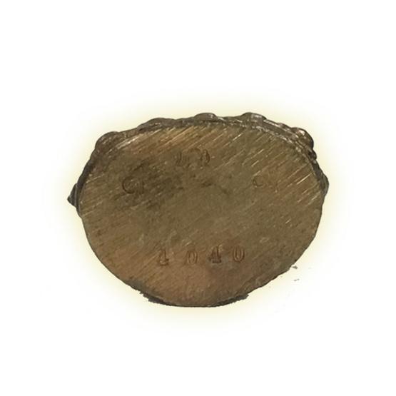 พระกริ่ง 155 ปี เนื้อสัมฤทธิ์ทองลงหิน ผสมทองคำปอกผิว