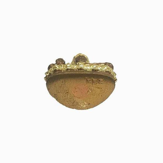 พระกริ่งมหาธรรมราชาลิไท เนื้อสัมฤทธิ์ผล ปิดทอง