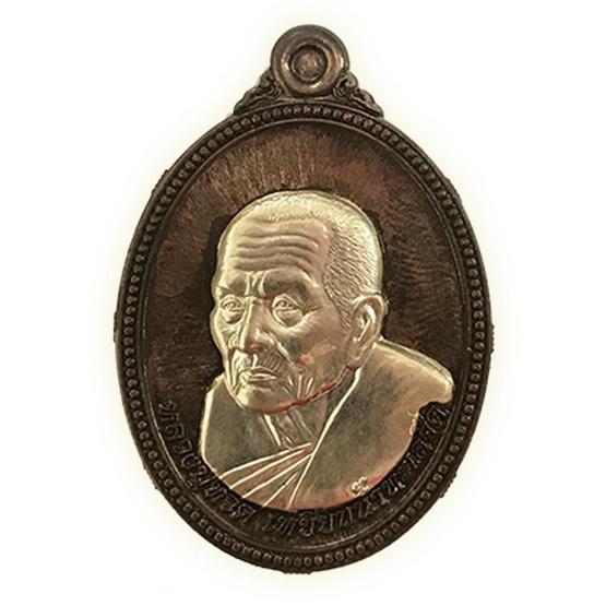 เหรียญหลวงปู่ทวดเนื้อนวะหน้ากากเงิน-หน้ากากงู