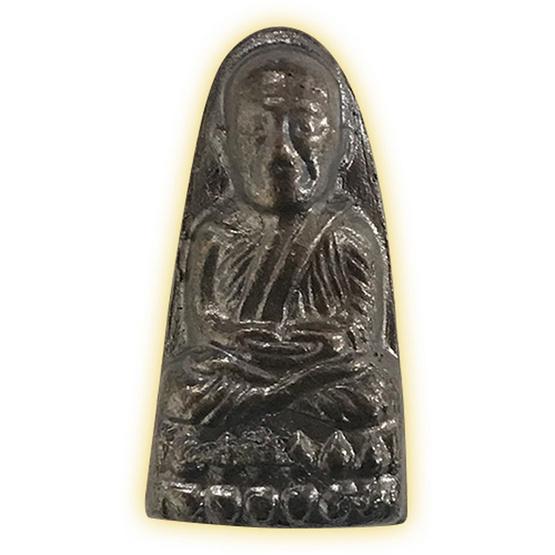 หลวงปู่ทวด พิมพ์ใหญ่ปลายมน รุ่น 100 พระชันษา ญสส.ทองแดงรมดำ ปี 56