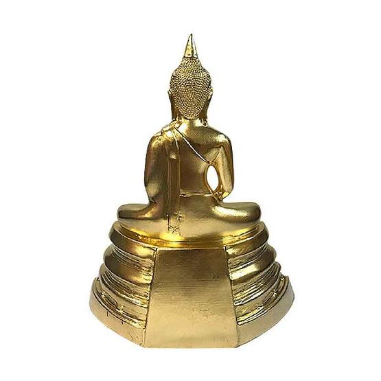 พระบูชาหลวงพ่อโสธร เนื้อทองเหลืองปิดทอง หน้าตัก 5 นิ้ว