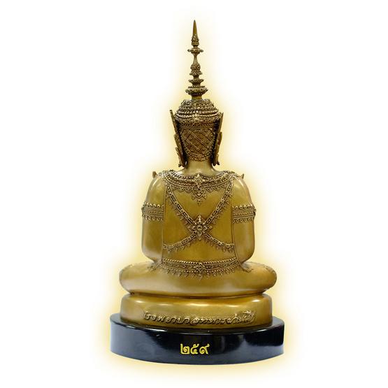 พระบูชาพระพุทธอโรคยาเทวราชา เนื้อสัมฤทธิ์นอก (บรอนซ์) หน้าตัก 5 นิ้ว