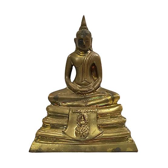 พระบูชา หลวงพ่อโสธร เนื้อทองเหลือง หน้าตัก 3 นิ้ว ปี36