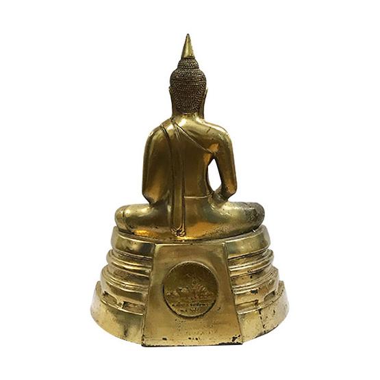 พระบูชา หลวงพ่อโสธร เนื้อทองเหลือง ปี43 หน้าตัก 5 นิ้ว