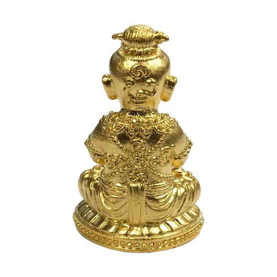 กุมาร เมตตา นะหน้าทอง เนื้อสัมฤทธิ์ชุบทอง
