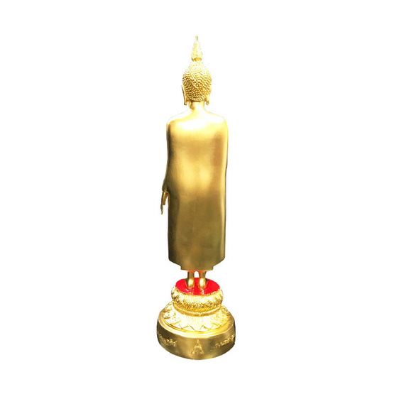 พระร่วงโรจนฤทธิ์ วัดพระปฐมเจดีย์ เนื้อทองเหลืองปิดทอง