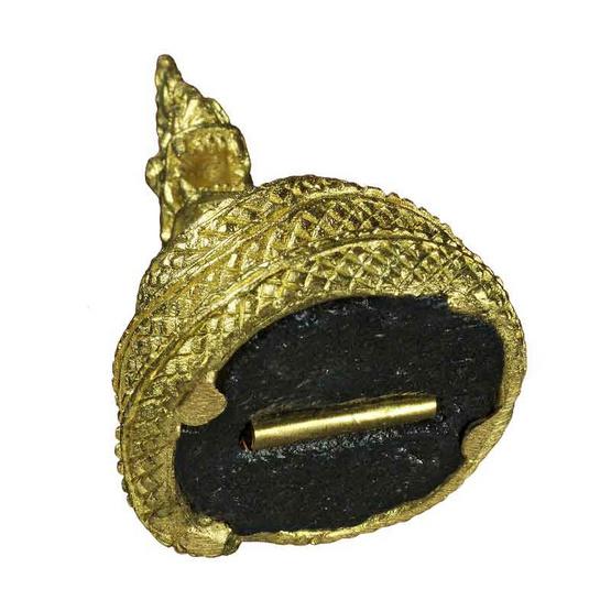 พญานาคราช มหากายสิทธิ์ เนื้อทองเหลือง