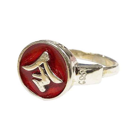 แหวนเหล็ง แก้ดวงตก แก้ชง เนื้อเงิน ไซส์ S