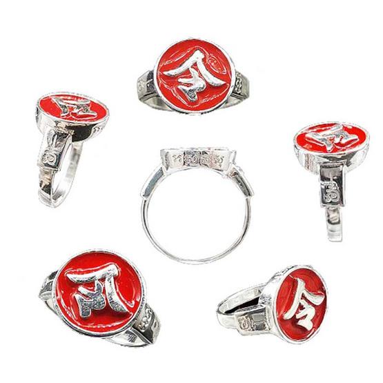 แหวนเหล็ง แก้ดวงตก แก้ชง เนื้อเงิน ไซส์ L