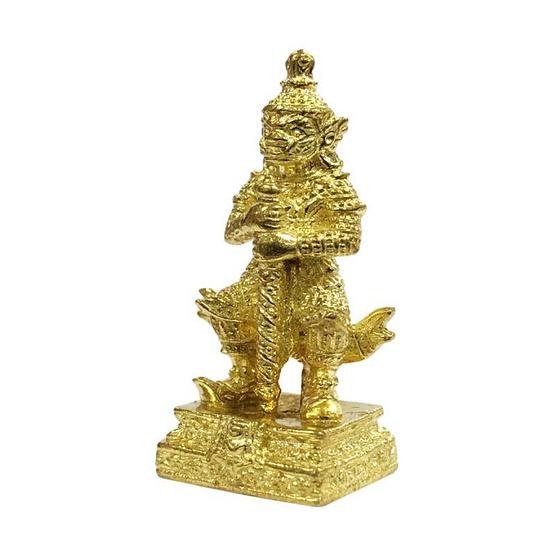 ท้าวเวสสุวรรณ วัดจุฬามณี  เนื้อทองเหลือง ปี59