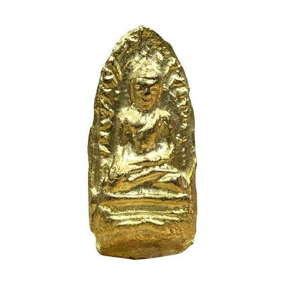 พระรอด รุ่นบูรณะวิหาร วัดมหาวัน พิมพ์โบราณ เนื้อทองทิพย์ ปี58