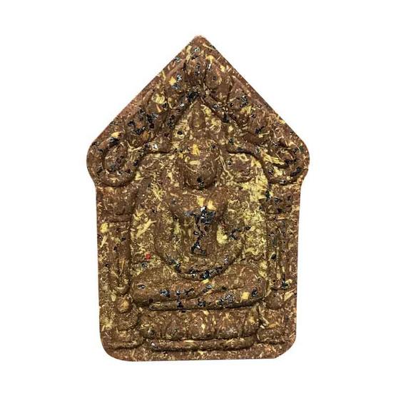 พระขุนแผน ผงพรายกุมาร หลวงปู่ทิม ฝังตะกรุดทองคำคู่ พิมพ์ใหญ่ เนื้อกระยาสารทเชิดชูเกียรติ