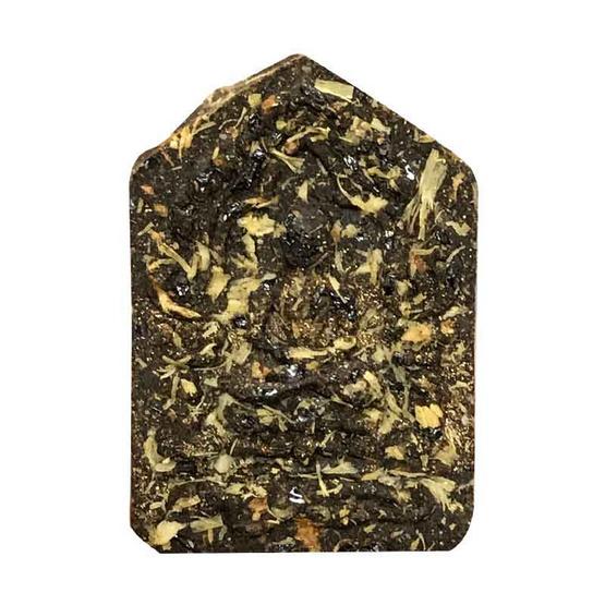 พระขุนแผน ผงพรายกุมาร หลวงปู่ทิม ฝังตะกรุดทองคำคู่ พิมพ์เล็ก เนื้อดำอมฤตพิชิตโชค