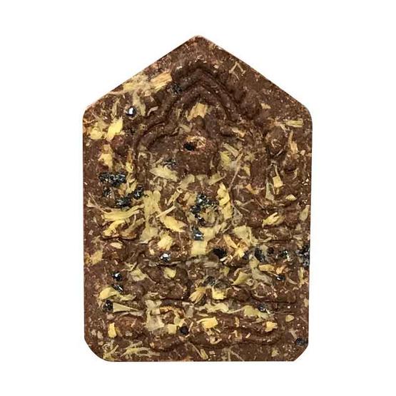 พระขุนแผน ผงพรายกุมาร หลวงปู่ทิม ฝังตะกรุดทองคำคู่ พิมพ์เล็ก เนื้อกระยาสารทเชิดชูเกียรติ