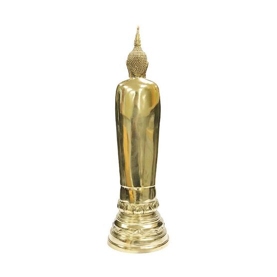 หลวงพ่อโต วัดอินทรวิหาร เนื้อทองเหลือง สูง 15 นิ้ว