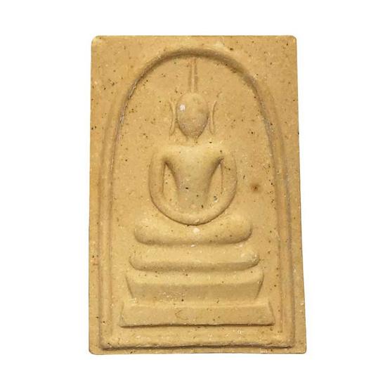 พระสมเด็จ พิมพ์ประธานหูบายศรี ฉลองอุโบสถ เนื้อผงมะลิ ปี37