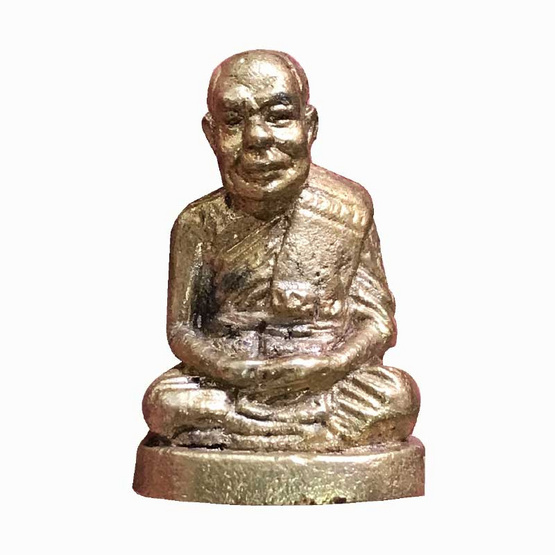 รูปหล่อลอยองค์ ครบรอบ 60 ปี หลวงพ่อมนัส วัดยายร่ม เนื้อทองเหลือง