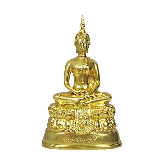 พระบูชา สมเด็จศิริราชร้อยปี ปิดทอง หน้าตัก 5 นิ้ว