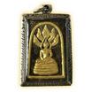 สมเด็จพระเสาร์ เนื้อยาวาสนาจินดามณี หลวงปู่เจือ ปิดทอง พิมพ์เล็ก เลี่ยมกรอบ