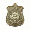 เหรียญพยัคฆ์จ้าวพยุห์ หลวงปู่หมุน เนื้ออัลปาก้า หน้าปลอกลูกปืน