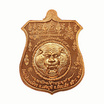 เหรียญพยัคฆ์จ้าวพยุห์ หลวงปู่หมุน เนื้อทองแดง ลงยาน้ำเงินจีวรเหลือง