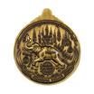 เหรียญสรงน้ำ มหายันต์ เจ้าพระยาปราบหงสาวดี เนื้อทองฝาบาตร รมซาติน