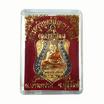 เหรียญเสมา หลวงปู่ผาด วัดปราสาททอง ปี 58 เนื้อทองแดง ลงยา