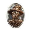 เหรียญสมเด็จพระเจ้าตากสิน ค่ายตากสินจันทบุรี ปี59 พิมพ์ใหญ่ เนื้อชินหน้ากากสำริด