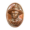 เหรียญสมเด็จพระเจ้าตากสิน ค่ายตากสินจันทบุรี ปี59 พิมพ์ใหญ่ เนื้อสำริด