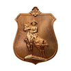 เหรียญสมเด็จพระเจ้าตากสินมหาราช ทรงม้าศึก เนื้อทองแดง