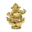 พระพิฆเนศ ปัญญาบารมีเอกชัยชนะ ขนาดลอยองค์ เนื้อทองเหลือง