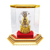 พระพุทธชินราช เนื้อกะไหล่ทอง ครอบแก้ว