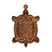 เหรียญพญาเต่าเรือน หลวงปู่หลิว ย้อนยุครุ่นแรก ปี16 เนื้อทองแดง