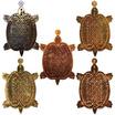 เหรียญพญาเต่าเรือน หลวงปู่หลิว ย้อนยุครุ่นแรก ปี๑๖ ชุดพิเศษ 5 เหรียญ