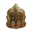 เหรียญพระสีวลี ปางจกบาตรนาคราช เนื้อทองทิพย์
