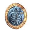 เหรียญคูณมงคลมหาลาภ ลพ.คูณ ปี 53 พิมพ์เล็ก เนื้อทองแดงรมดำขอบทองแดง
